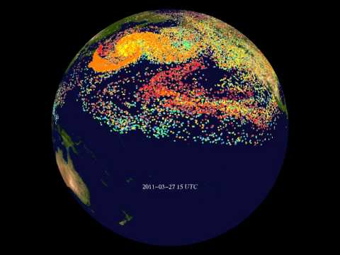 Fukushima Radioactive Aerosol Dispersion