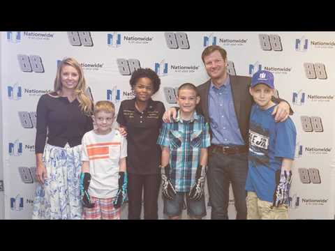 Dale Jr. and Nationwide Children's Hospital