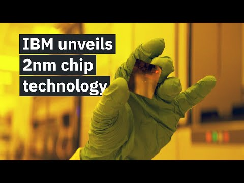 See how IBM made the world's first 2 nm chip technology.