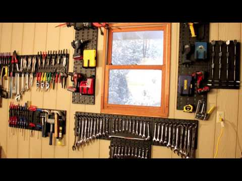 Organize with The Toolhanger