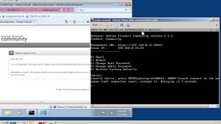 Create a virtual network with a firewall using VMware player -part4