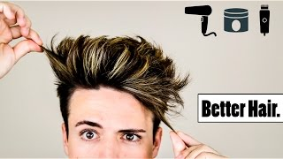 4 Mens Hair Hacks to Make Your Hairstyle BETTER