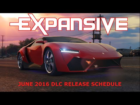 June DLC Release Schedule 2016 - EXP