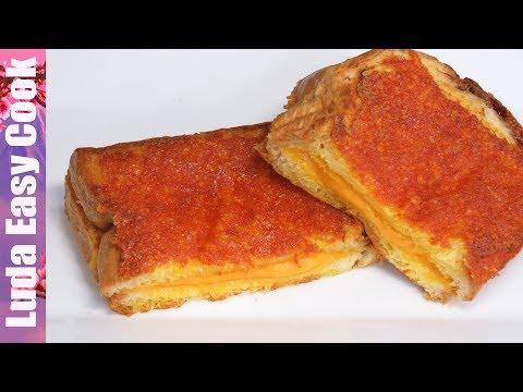 САМЫЙ СЫРНЫЙ СЭНДВИЧ Завтрак за 5 минут! Очень сытно и вкусно! | ULTIMATE CHEESE SANDWICH