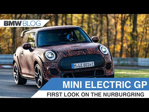 First Look at the MINI Electric GP On The Nurburgring