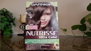 Garnier Nutrisse Ultra color B1 Cool Brown Review