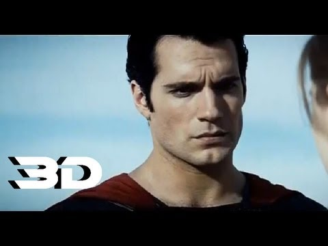 Man Of Steel - Official Trailer 2 In 3D (2013) DC COMIC