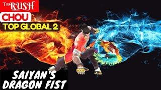 Saiyan's Dragon Fist [Top Global 2 Chou] ᵀˢR͟͟USH Chou Gameplay And Build