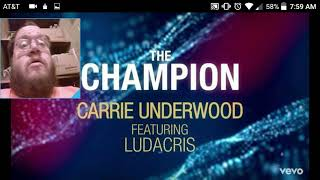 Carrie Underwood - The Champion (Official Lyric Video) ft Ludacris - DTMP Review