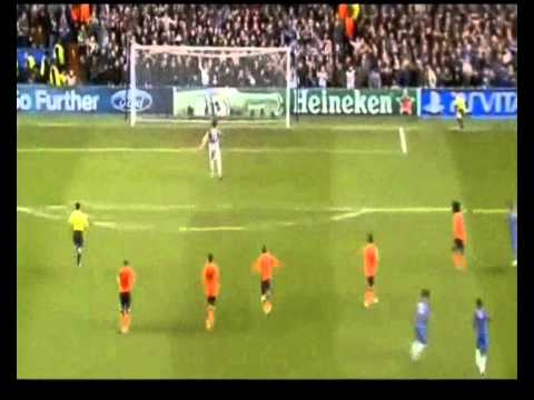 Gol Oscara w meczu Chelsea - Szachtar