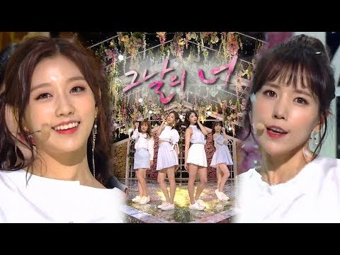 《Comeback Special》 러블리즈(Lovelyz) - 그날의 너 @인기가요 Inkigayo 20180429