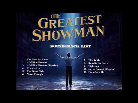 The Greatest Showman Song [Official Lyric Video] OST Soundtrack full