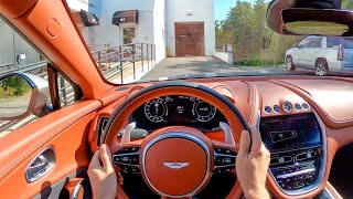 2021 Aston Martin DBX - POV Test Drive by Tedward (Binaural Audio)