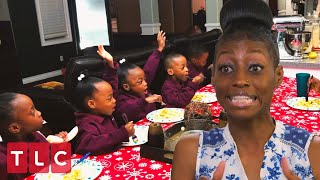 Breakfast With 11 Kids! | Doubling Down With the Derricos