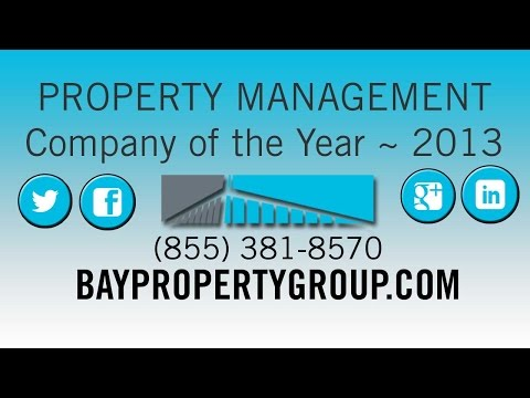 "Bay Property Group awarded ""Property Management Company fo the Year 2013"" by EBRHA"