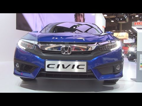 @Honda #Civic 1.5 i-VTEC Exclusive CVT (2017) Exterior and Interior in 3D