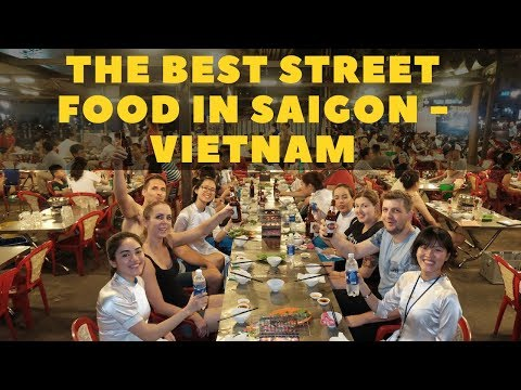 0 The best street food in Saigon, Vietnam