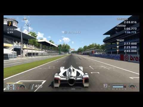 GT6  v1.04 how to cheat on Vettel X Challenge Monza | EASY 2 mil Cr .