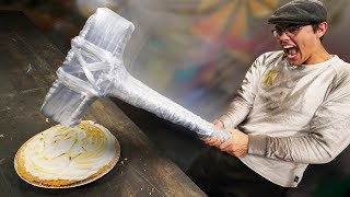 DIY Insane Saran Wrap Weapons!