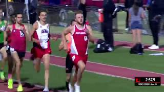 Josh Kerr Runs NCAA #6 All Time 3:35 1500m