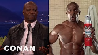 Terry Crews' Old Spice Ads Have Gone Global  - CONAN on TBS