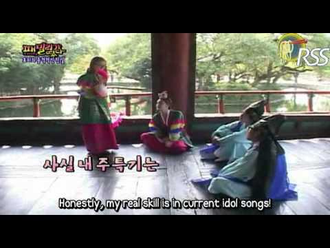 Family Outing Hyori dance U-Go-Girl in Hanbok + BEG Abracadabra