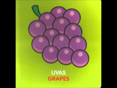 Las frutas - Canciones infantiles (aprendiendo las frutas) música para bebes - Ingles