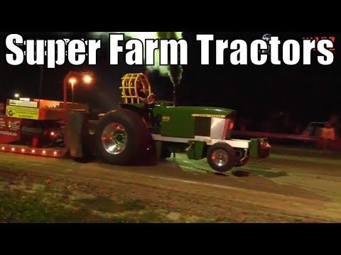 Super Farm Tractors Class At TTPA Tractor Pulls In Port Hope MI 2018