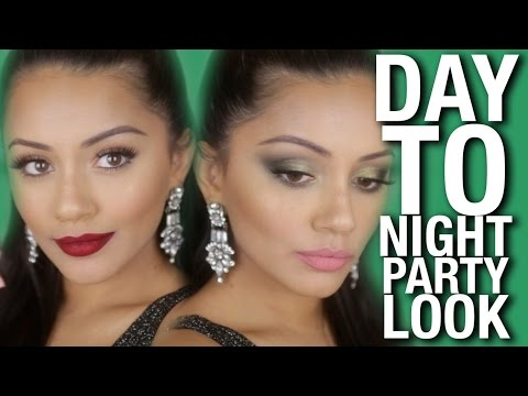 DAY to NIGHT Party Makeup Tutorial & Tips | Beauty Bay Ad