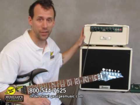 Ibanez TSA15H Tube Screamer Amp Head and Cab Review - George's Music