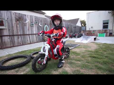 Oset Electric Trials Bike Test- Cycle News