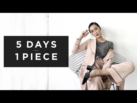 5 Days 1 Piece | Fall Layering Transformation