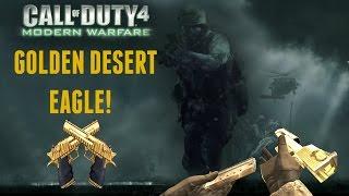 CoD 4 Modern Warfare Wreckage! (Golden Desert Eagle)