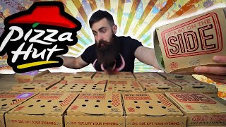 THE FULL PIZZA HUT SWEETS & SIDES MENU CHALLENGE   BeardMeatsFood