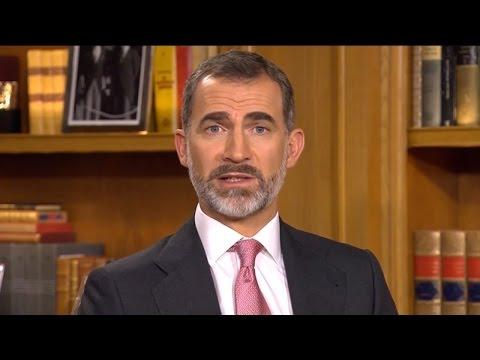 El Rey avisa al independentismo: no es admisible despreciar los derechos de todos los españoles