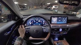 2019 Kia K900 Luxury VIP Package - POV Night Drive (Binaural Audio)
