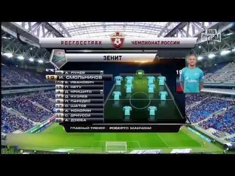 Zenit Petersburg vs Rubin Kazan