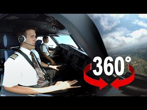 360° Experience | SWISS Airbus A320 | Geneva – Zurich