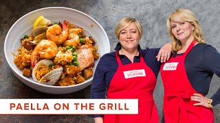 How to Make Paella on the Grill