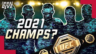 PREDICTIONS for UFC CHAMPIONS in 2021