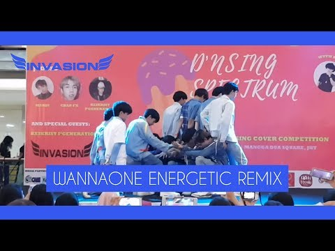 [180114] INVASION BOYS COVER WANNAONE (워너원) - Beautiful + Energetic MAMA Remix