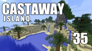"""Minecraft - """"Castaway Island"""" Part 35: Thunder & Lightning"""