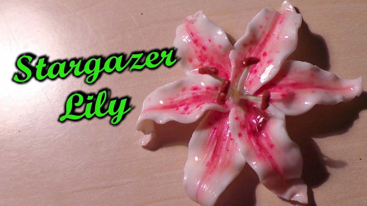 flower clay tutorial - photo #29