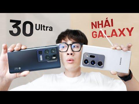 Siêu phẩm ZTE Axon 30 Ultra: nhái Galaxy Note, Snap 888 giá rẻ hơn