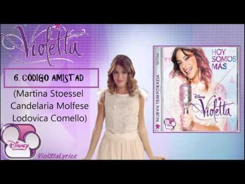 Baixar Violetta 2 CD 'Hoy Somos Mas'(Todas Las Canciones)