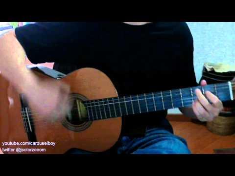 Que pides tu - Alex Ubago (guitarra acustica) como tocar