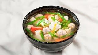 Món Ngon Mỗi Ngày - Canh chua nấu đậu