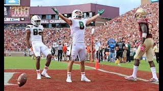 Miami Hurricanes Highlights @ FSU