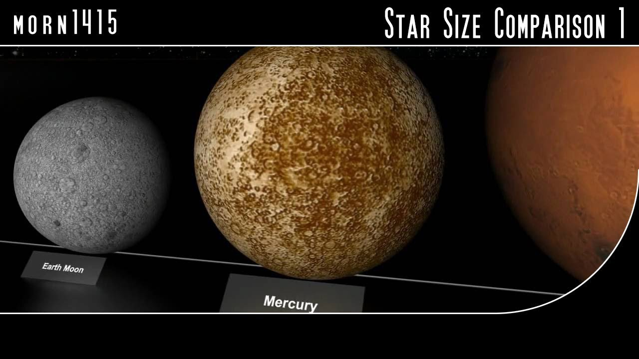 Star Size Comparison HD - YouTube