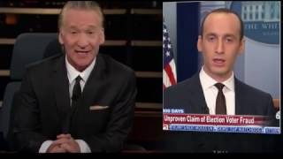 Bill Maher Crushes Donald Trump's White House Enablers
